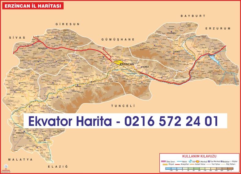türkiye harita fiziki